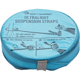 Sea to Summit Hammock Ultralight Suspension Straps grey